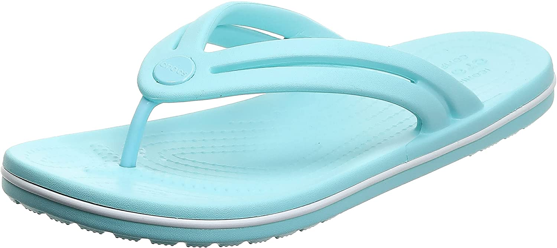 Crocs Women's Crocband Flip Flop   Slip on Water Shoes   Casual Summer Sandal