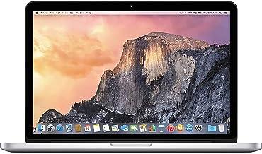 """Apple MacBook Pro 15.4"""" (i7-4980hq 2.8ghz 16gb 256gb SSD) QWERTY U.S Teclado MJLQ2LL/A Medio 2015 Plata (Reacondicionado)"""