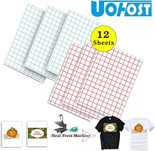 12Sheets A4 T-Shirt Heat Transfer Paper for Dark T-Shirt White T-Shirt Iron-On Transfers Paper DIY Christmas Halloween Shirt£¬UOhost