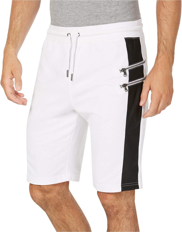I-N-C Mens Bullet Knit Casual Bermuda Shorts