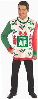 Forum Novelties Festive Af Ugly Christmas Sweater