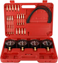 FreeTec Carburetor Synchronizer and Adjustment Kit Fuel Vacuum Gauge Tool