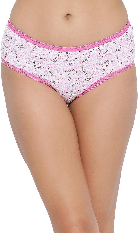 Clovia Max 69% OFF Womens mid Waist Cotton Brief Underwear Hipster Panties Brand Cheap Sale Venue