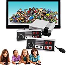 Classic Video Game Console, Classic Mini Console -Built-in with 620 Classic Retro Games Dual Players Mode Console and Nost...