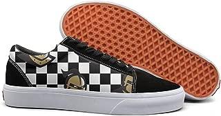 JDWESA Men's Custom Canvas Shoes Lace Up Shoes
