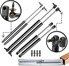 A-Premium Hood Tailgate and Rear Window Lift Supports Shock Struts Replacement for Jeep Grand Cherokee WJ 1999-2004 6-PC Set