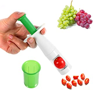 Grape Cutter, Tomato Strawberry Grape Slicer for Kids, Multifunctional Cut Tools for Baby Auxiliary Food and Salad Gadget ...