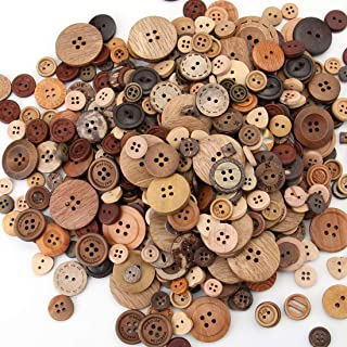 10 Pcs Black Toggle Buttons Wooden,60MM Buttons DIY Necklace  Buttons,sewing buttons Wood Craft Clothing accessories WD0222