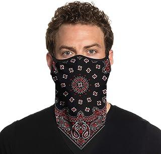 #Face Mask Bandana Neckerchief Cotton New Hankerchief Unisex Neck Face Cover