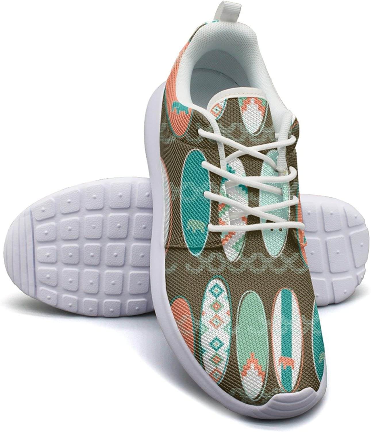 ERSER Tribal Surfing Surfboards Wide Running shoes for Women