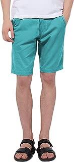 Pau1Hami1ton PH-01 Mens Chino Bermuda Shorts Cotton Casual Slim-Fit Summer Beach