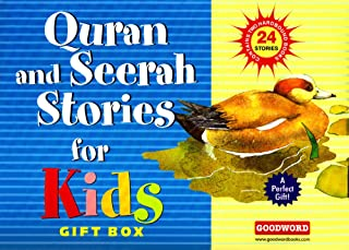 Quran and Seerah Stories for Kids Gift Box (2 Hardcover Books)