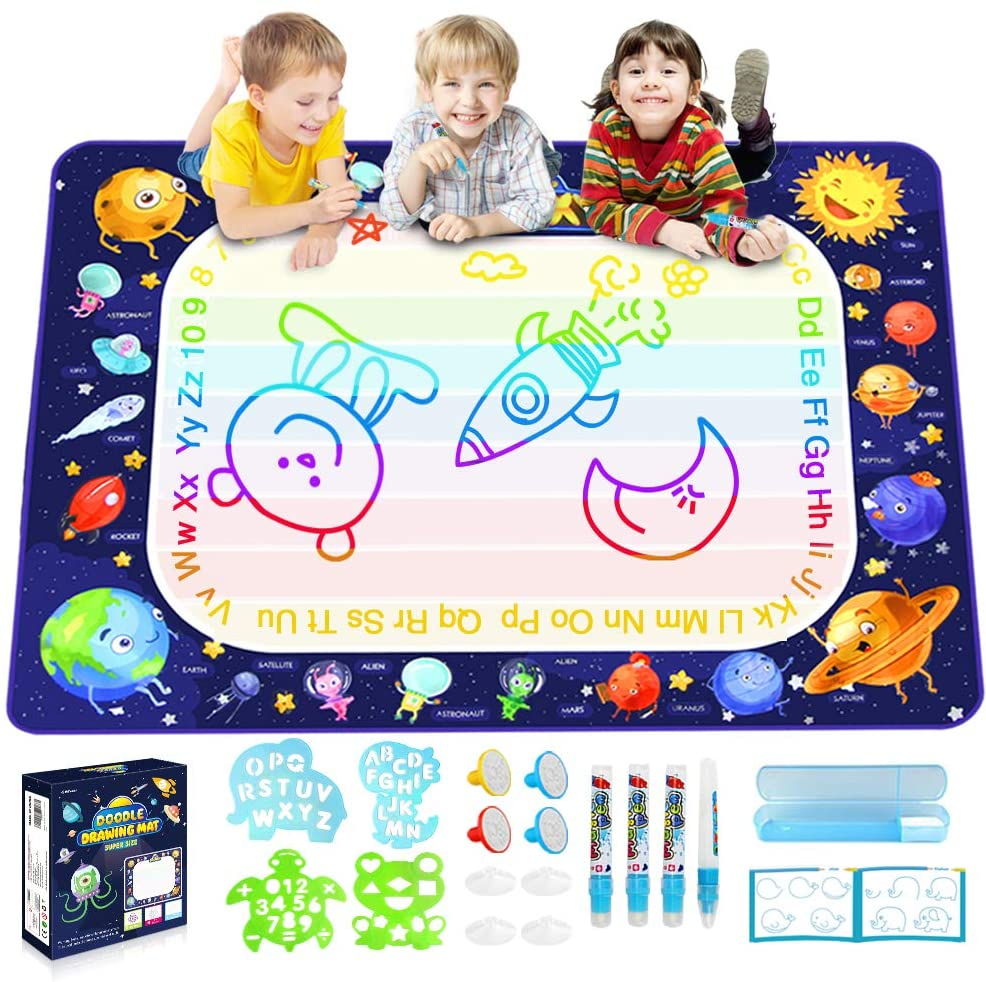 Ranking integrated 1st place Brand new Betheaces Magic Doodle Drawing Mat Water - Large M Extra