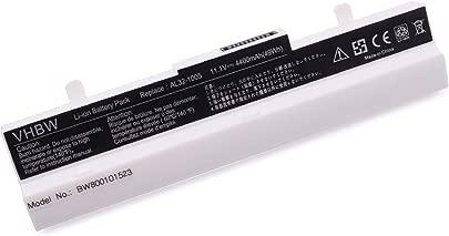 vhbw AKKU LI-ION 4400mAh 10 8V in wei  White passend f r ASUS ersetzt AL32-1005 AL31-1005 90-OA001B9000 990AAS168288 0B20-00KA0AS etc