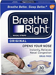nasal strips breathe right