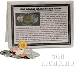 coin collection of different countries