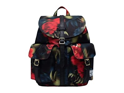 Herschel Supply Co. Dawson Small (Blurry Roses) Backpack Bags