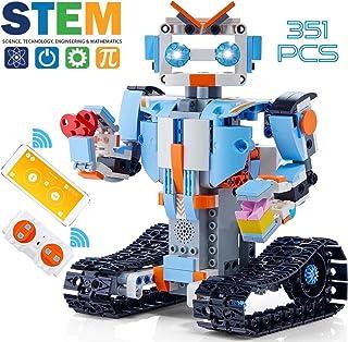 GOOMY Build a Robot Remote Control Blocks Kit Intelligent RC Toy APP STEM Bricks Electric Educational Engineering Best 8-1...
