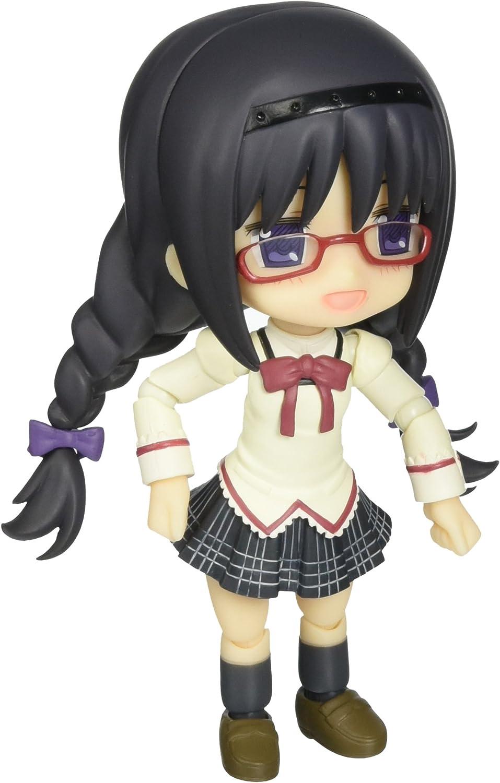Kotobukiya Puella Magi Madoka Magica  Akemi Homura (School Uniform Version) CuPoche Action Figure
