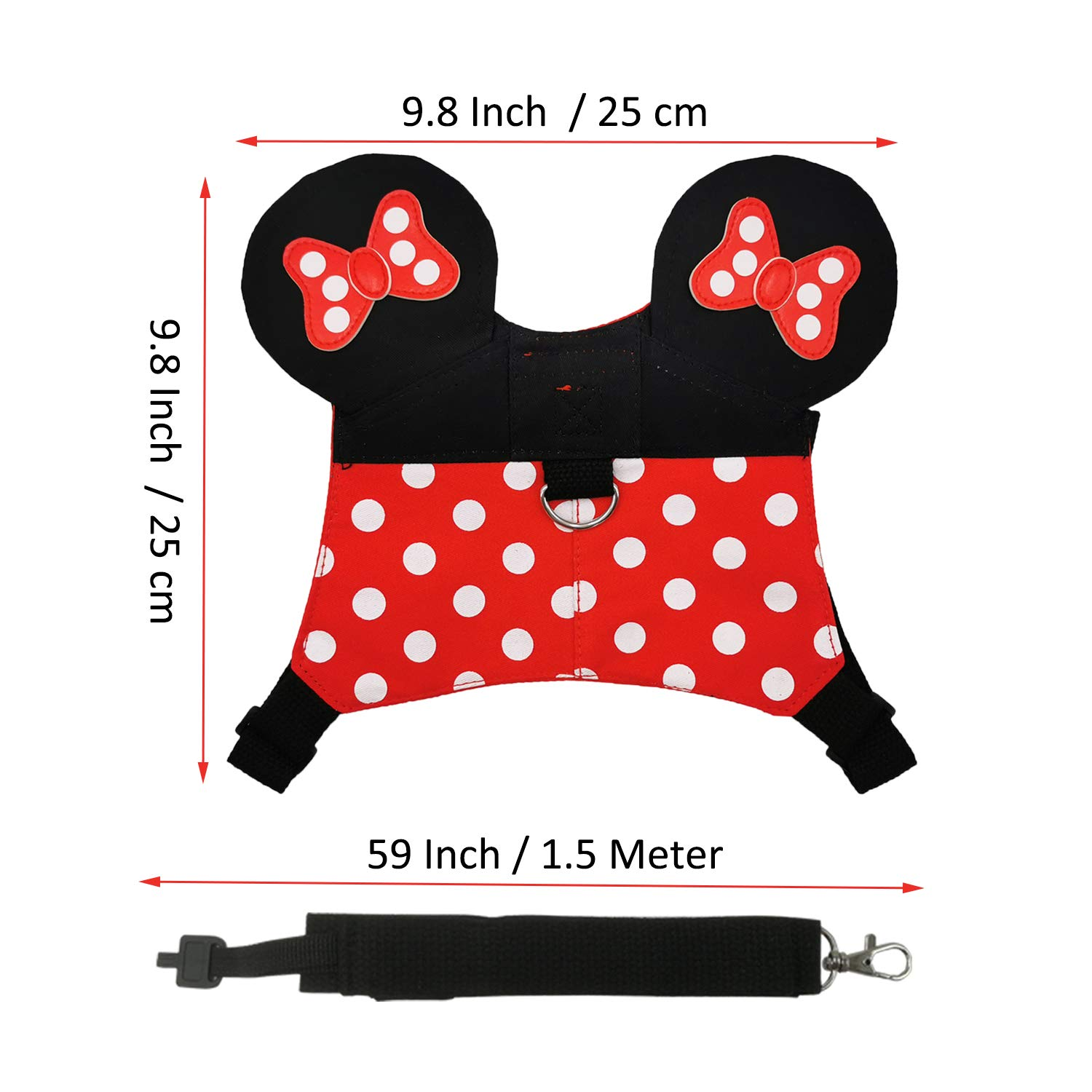 Girl Preschool Gifts Lion 3PCs Toddler Leash Backpack Set Child Safety Harness Kid Backpack with Chest Strap Anti Lost Baby Leash Wrist Link with Cute Lion for Walking Boy