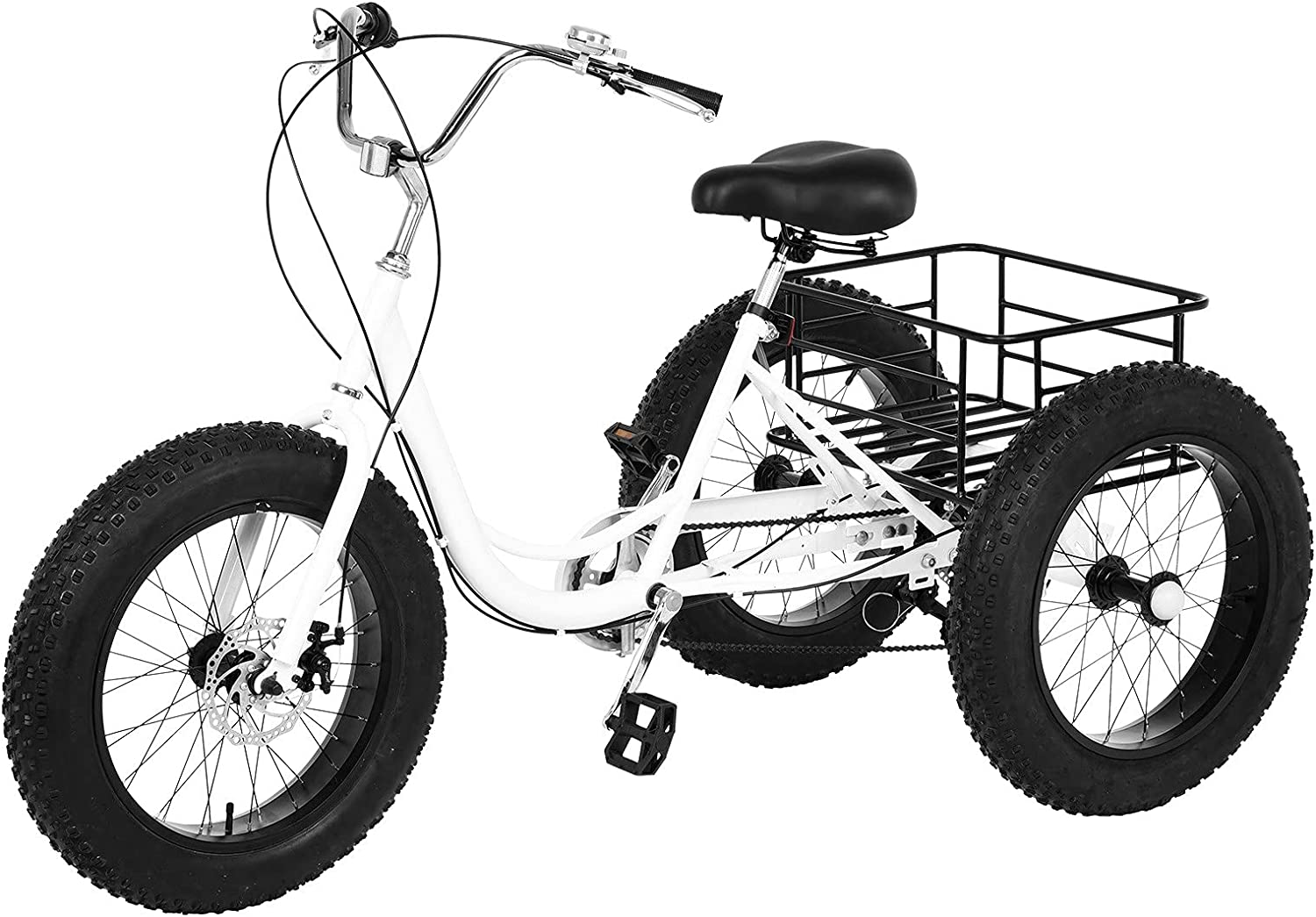 Adult Tricycles Special price for a limited time 3-5 Days Delivery Trikes Speed 7 Ranking TOP13 inch 20