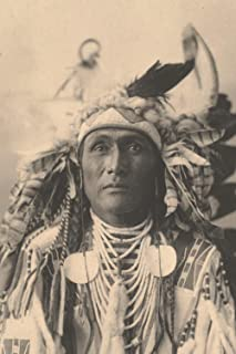Spies On The Enemy, Crow 1898: Native Americans – Rare Portraits Of Native People Of The United States On The Notebook Cov...