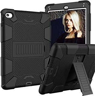Smart Case for IPad 10.2 Inch,Heavy Duty Armour Shockproof Hard PC Soft Silicone Skin Back Cover for IPad 7th Tablet Case...