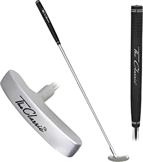 """Best GoSports The Classic Golf Putter - Premium Grip and Putt Putt Style Two-Way Head for Right or Left Handed Golfers - 35"""" Length Review"""