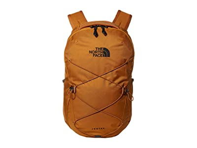 The North Face Jester Backpack (Timber Tan/TNF Navy) Backpack Bags