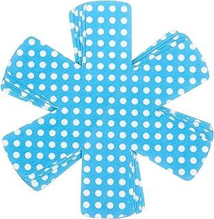Sartenes y ollas juego de protectores de 6, perfecto para olla, cacerola, sartén, cuenco, utensilios de cocina, para horno, de cerámica (, cacerolas evitar arañazos separador