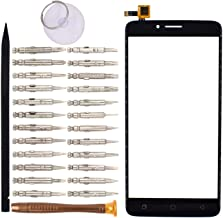 Goodyituo Touch Screen Glass Digitizer Replacement for Coolpad T-Mobile Revvl Plus(Black)