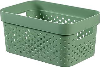 CURVER | Bac Infinity 4,5L , Vert, 26 x 17,5 x 12,3 cm, Plastique recyclé