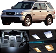 SCITOO 11Pcs White Interior LED Light Package Kit Replacement Bulbs Fits for Honda Passport 1998-2002