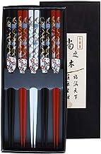Pamai Pai® 5 Paar Essstäbchen Kranich Chinesische Stäbche