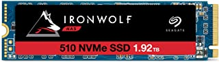 Seagate IronWolf 510 1.92TB NAS SSD Internal Solid State Drive – M.2 PCIe for Multibay RAID System Network Attached Storag...