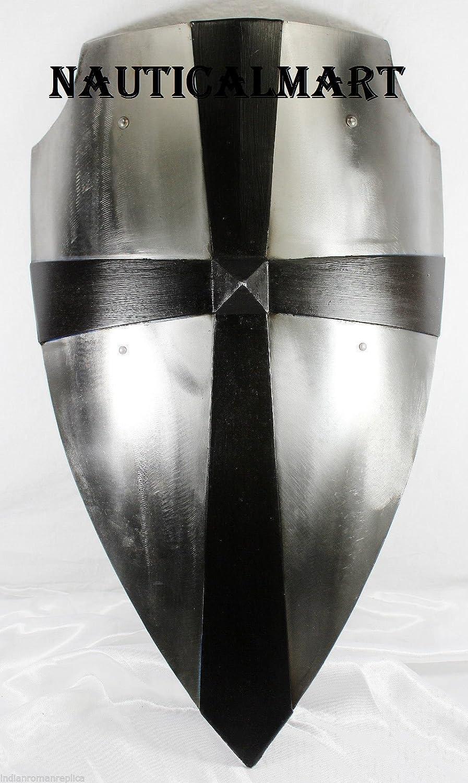 NauticalMart Medieval Armor Battle Steel Shield