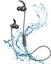 Wireless Headphones Bluetooth Headphones Wireless Sport Earphones Bluetooth 5.0 IPX6 Waterproof Sports Earphones Gym Running HD Stereo Headset w/Mic 11 Hours Playtime Sports Noise Cancelling Bluetoot