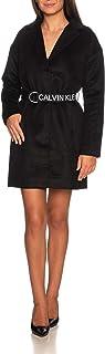 Calvin Klein Patterned Wool Blend Blazer Coat Chaqueta para Mujer