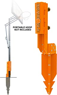 PROBASE Steel Stand for Portable Basketball Hoop. Replaces Any Kind of Portable Hoop Plastic Base. Give Roots to Your Port...