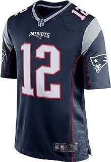Men's New England Patriots Tom Brady Navy Blue Game Jersey