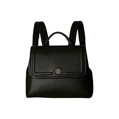Anne Klein Convertible Backpack (Black) Backpack Bags