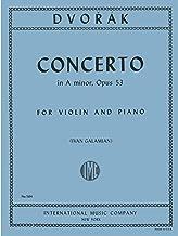 Dvorak, Antonin - Concerto in a minor, Op. 53 - Violin and Piano - by Ivan Galamian International