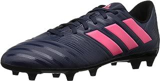 Women's Nemeziz 17.4 FG W Soccer Shoe, Trace Blue/Red Zest/Core Black, 7 M US