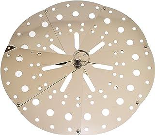 "Drop Lid Otoshibuta Flexible Size - Cooking Drop Lid Adjustable Stainless Steel Lid 5.5""-9.1"" Steamer Basket"