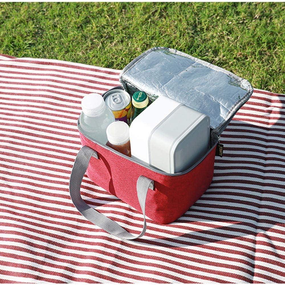95sCloud Lunchtasche Lunchbox Almuerzo Bolsillo Lunch Bag Lunchpaket aislados port/átiles Lunchpaket para Adultos ni/ños Trabajo Escuela Picknick Camping Viajes Bag 21.5cm x 13.5cm x 13.5cm
