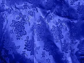 royal blue brocade