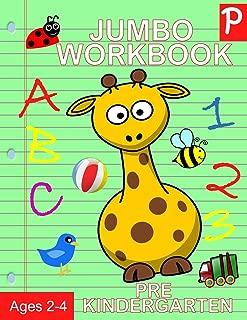 Jumbo Workbook Pre Kindergarten: Jumbo Preschool Activity Book Ages 2-4 (Activity Books for Kids)