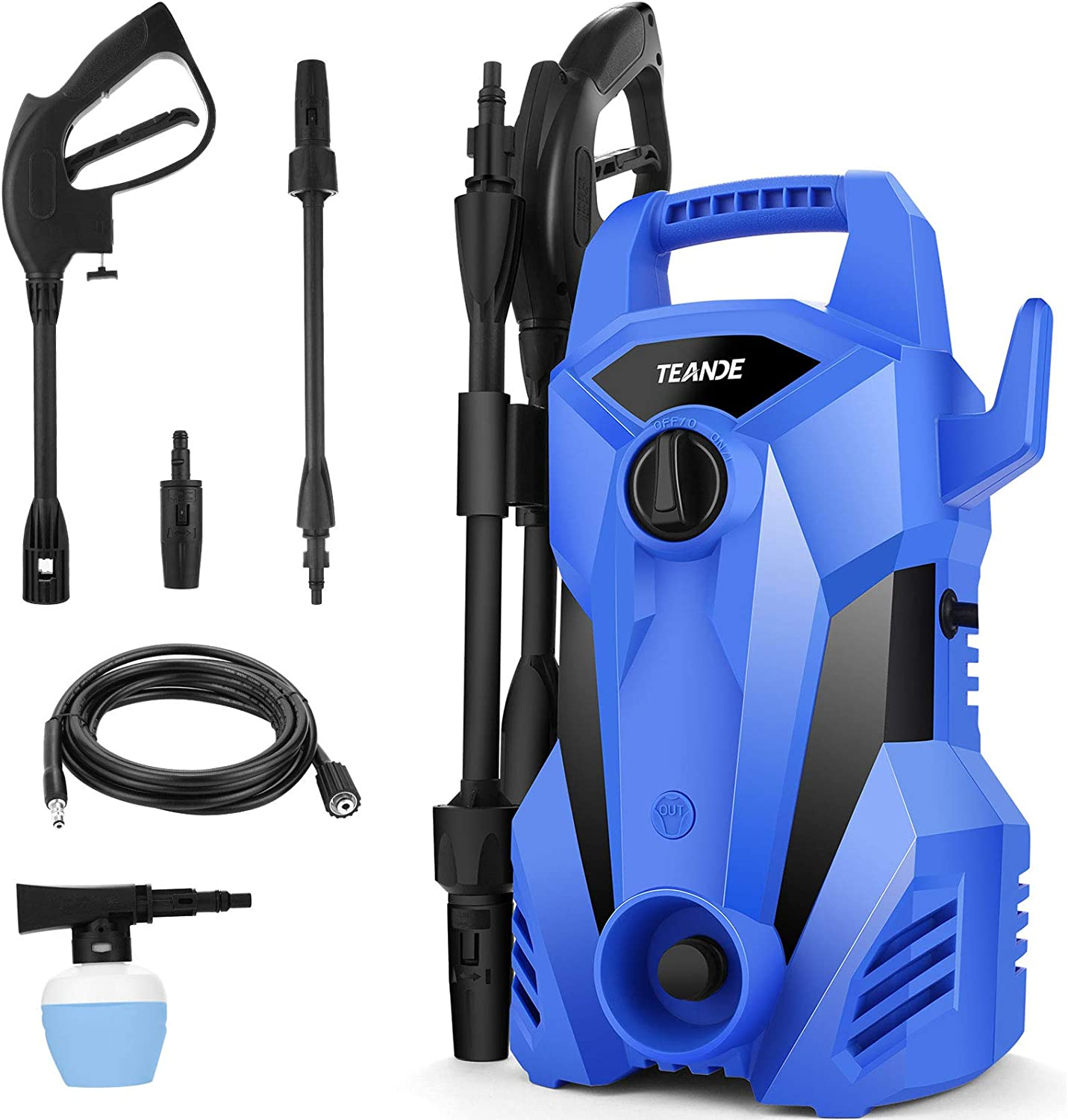 Genuine Free Shipping Pressure Washer TEANDE 2300 Deluxe P Electric PSI Max