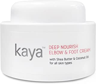Kaya Clinic Deep Nourish Elbow and Foot Cream, with Shea Butter & Coconut Oil, All Skin Types 50ml