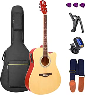 Best eko acoustic electric guitars Reviews